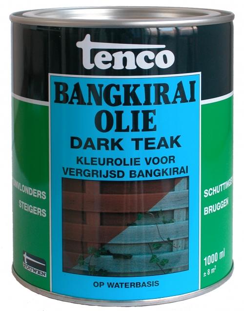 Tenco Bangkirai Olie Dark Teak