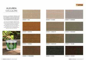 kleuren brochure Terrasslasyr