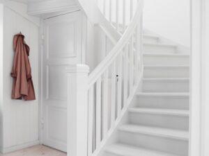 Trestjerner Gulvmaling: zeer geschikt voor trappen!