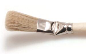 Goudhaantje Lionse penseel serie 750 vierkant