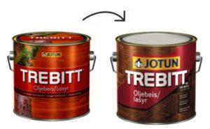 Jotun Trebitt Oljebeis nieuwe verpakking