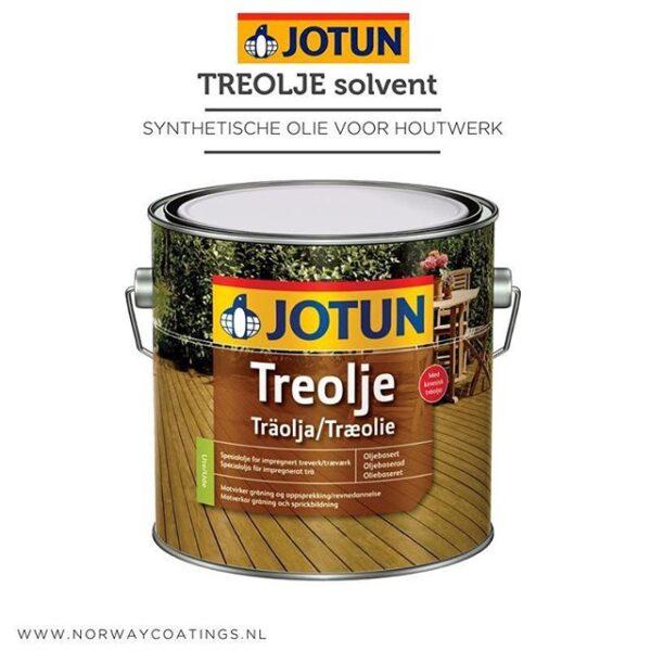Treolje Solvent – synthetische olie voor houtwerk