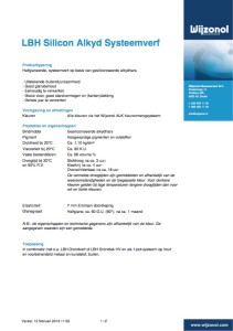 Voorblad Wijzonol LBH Systeemverf