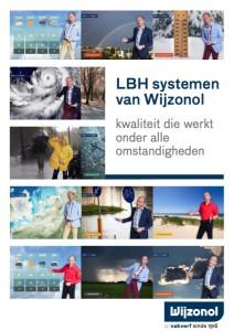 Voorkant Brochure Wijzonol LBH systemen