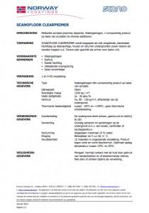 Technische info Scanofloor Clearprimer