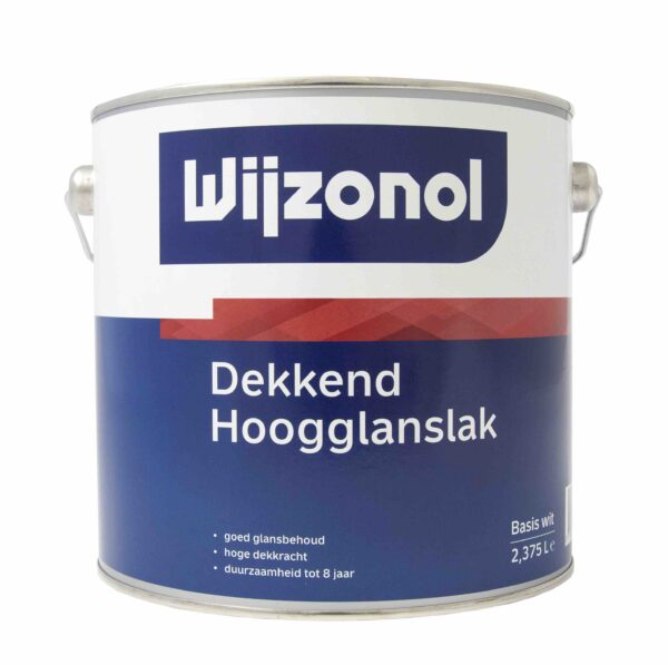 Wijzonol Dekkend Hoogglanslak 2,5 liter koopverfonline