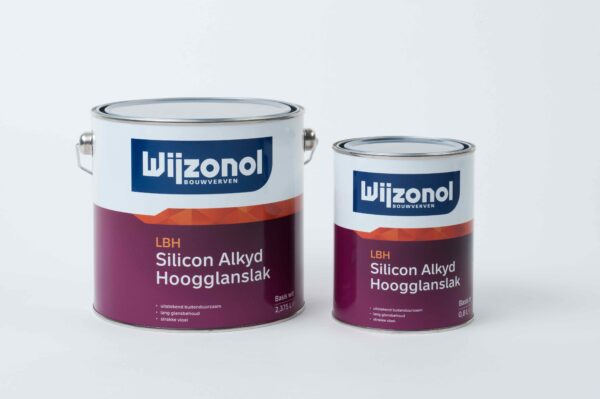 Wijzonol LBH Hoogglans 1 en 2,5 liter