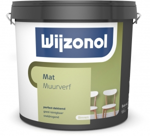Wijzonol Muurverf Mat