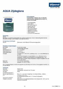 productinfo Wijzonol Aqua Zijdeglans