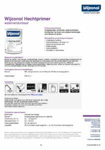 productinfo Wijzonol Hechtprimer
