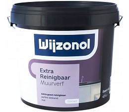 Wijzonol Muurverf Extra Reinigbaar