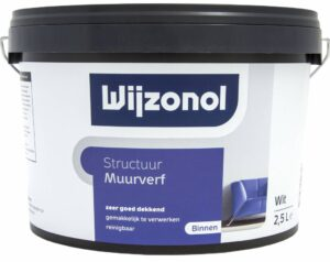 Wijzonol structuurverf