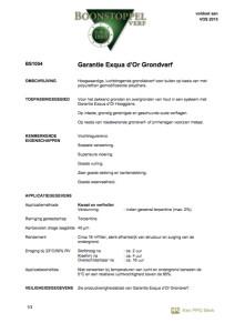 voorkant Boonstoppel Garantie Exqua D'or grondverf koopverfonline
