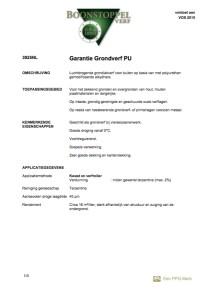 voorkant Boonstoppel Garantie Grondverf PU