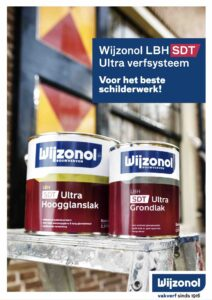 Brochure Wijzonol LBH SDT Ultra verfsysteem