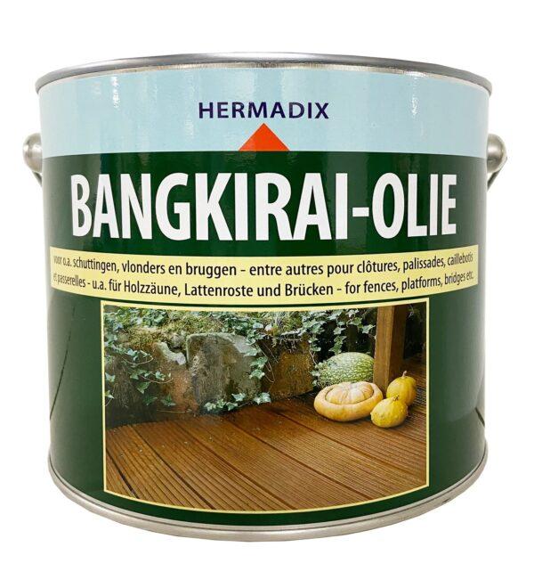 Hermadix Bangkirai Olie 2,5 liter 03.2021