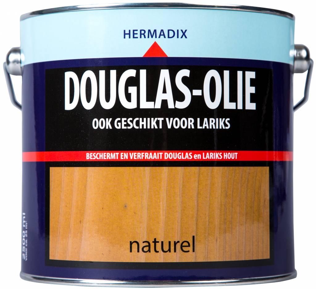 Douglas hout behandelen met olie