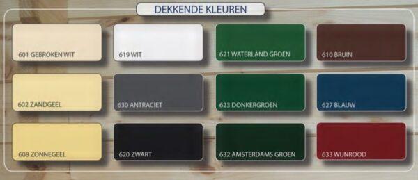 Hermadix Houtdecor dekkende kleuren