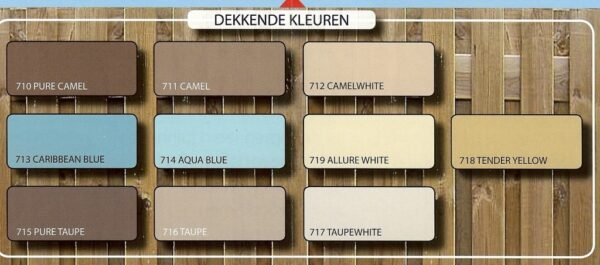 Hermadix Tuindecoratiebeits dekkende kleuren