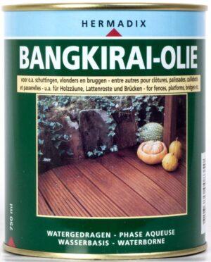 Hermadix bangkirai olie 2,5 ltr
