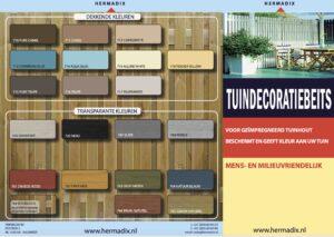 Brochure Hermadix Tuindecoratiebeits