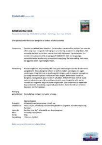 Informatieblad Hermadix Bangkirai olie