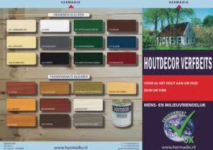 Brochure Hermadix Houtdecor Verfbeits