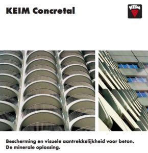 Brochure KEIM Concreton / Concretal
