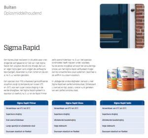 Brochure Sigma Rapid