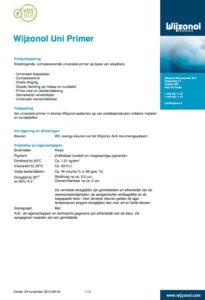 productinformatie Wijzonol Uni Primer