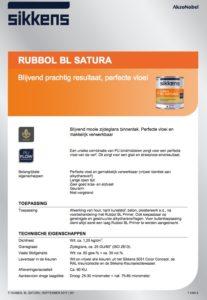 productinfo Sikkens Rubbol BL Satura