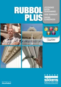 Brochure Sikkens Rubbol Plus Assortiment