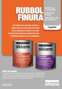 Leaflet Sikkens Rubbol Finura