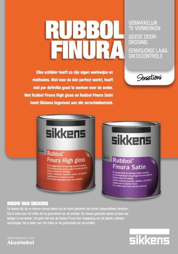 voorblad Brochure Sikkens Rubbol Finura