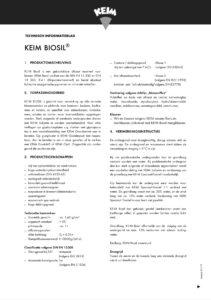productinfo Keim Biosil