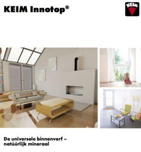Brochure KEIM Innotop