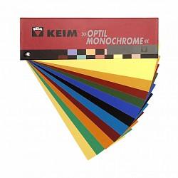 kleurenkaart KEIM Optil Monochrome