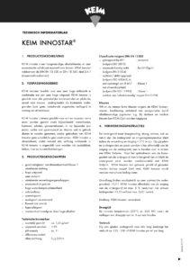 productinfo KEIM Innostar