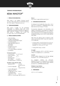 productinfo KEIM Innotop