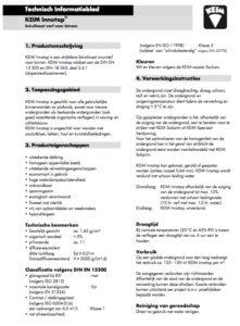 Technische productinfo KEIM Innotop