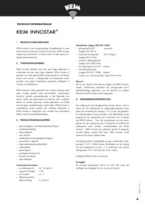 Productinformatie KEIM Innostar