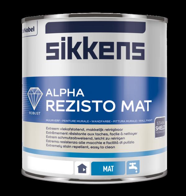 Sikkens Alpha Rezisto Mat 1 liter