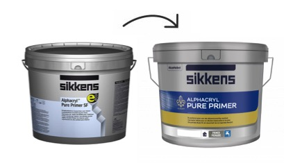 Sikkens Alphacryl Pure Primer SF nieuwe verpakking