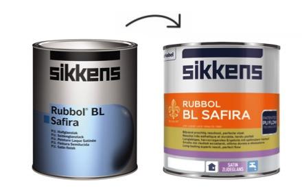 Sikkens Rubbol BL Safira nieuwe verpakking