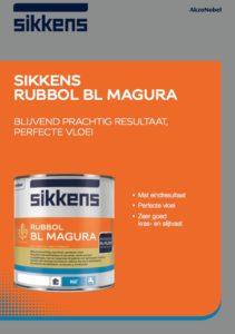 Leaflet Sikkens Rubbol BL Magura