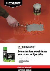 Technische Info Rust-oleum Groene Verfafbijt