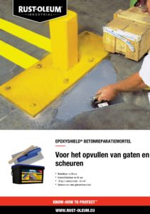 productinfo Rust-oleum Betonreparatiemortel