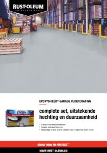 productinfo Rust-Oleum Epoxyshield Garagevloercoating