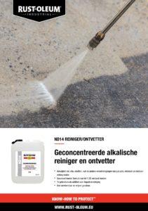 productinfo Rust-Oleum ND14 Reiniger/Ontvetter