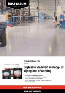 productinfo Rustoleum 7200 Vloerverf PU